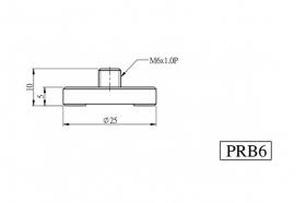 Стальное основание для пьедесталов, модель M-PRB6