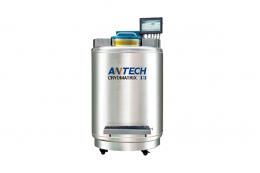 Парофазный криогенный морозильник (сосуд Дьюара) для хранения биологических образцов, с микрокомпьютерной системой управления, -196°С/-180°С, 2270 литров, модель CryoMatrix 128K