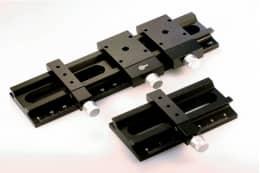 Оптические рельсы с метрической линейкой и каретки, ширина 40 мм, серия GCM-7203