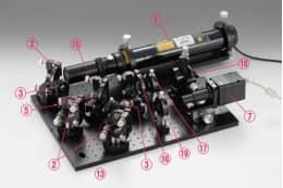 Микроинтерферометр для измерения радиуса кривизны, модель PH-TOP2