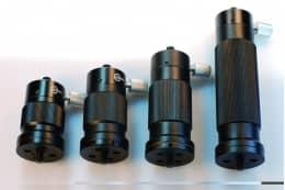 Держатели для оптических стержней, регулируемые по высоте серия GSM-01
