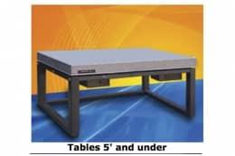 Оптический стол с ультранизкой собственной частотой для высокочувствительного научного, метрологического и медицинского оборудования, серия MK5201-3648-XX:250BM-1