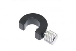 Полукольцевой фиксатор для оптических стержней 12 мм, модель RH12C
