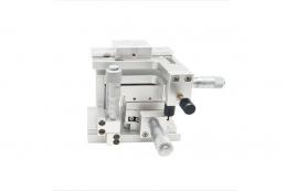 4-х осевой (XYZT) юстировочный столик для оптического волокна, модель M-FP-XYZT-05