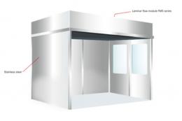 Чистая комната из нержавеющей стали