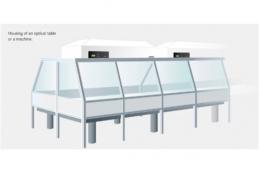 Чистая комната для оптических столов